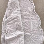 Спальник белый тёплый от Mamas&papas 00-06мес. Спальный мешок.
