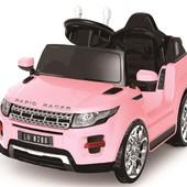 Детский электромобиль Land Rover C 1613 , розовый