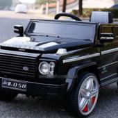 Детский электромобиль Рендж Ровер J1724 черный