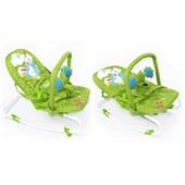 Детский шезлонг Tilly (BT-BB-0001 green) с ремнями для переноски