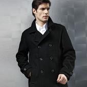 мужское пальто от тсм tchibo. 90% шерсть.