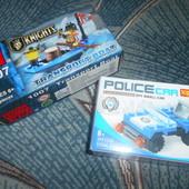 Конструктор 21-30дет Police car Knights мелкие детали машинка пират