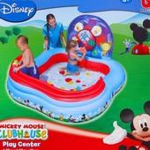"""Игровой центр-бассейн """"Mickey Mouse"""" (4 кольца, 6 шаров), от 3 лет"""