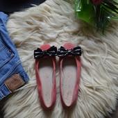 Замшевые балетки-туфельки Clarks,р-р 38