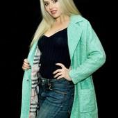 Пальто из натуральной ткани