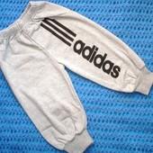 Спортики спортивные штаны adidas с начесиком 80-86,86-92,92-98, 98-110