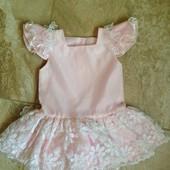 Платье -туника на девочку 9-12 м