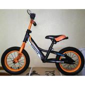 """Детский беговел (велобег) Azimut Balance New Air 16"""" оранжевый"""