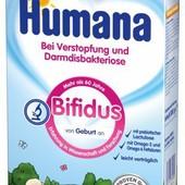 Детская молочная смесь Humana в ассортименте