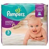 Подгузники Pampers Active baby-dry 3 (на 4-9кг) -28шт