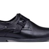 Кожаные мужские туфли классические (061)
