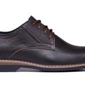 Стильные туфли для мужчин из натуральной кожи (162к)