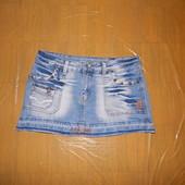XS-S, поб 44-46, классная юбка джинсовая Kelly Bell