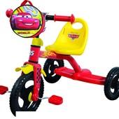 Велосипед трехколесный 0205C2 Disney Сars red-yellow