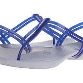 Crocs Isabella T-strap, синие, W7