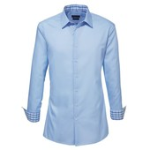Мужская качественная бизнес рубашка р.39 М  Nobel League®, Германия