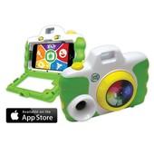 LeapFrog Фотокамера чехол детская зеленая 3-6 лет creativity camera app with protective case, green