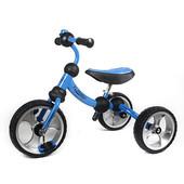 Велосипед трехколесный M 3192-1 EVA колеса,голубой
