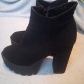 модные ботинки ботильйоны) на золушку