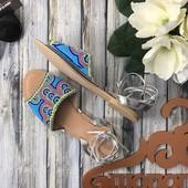 Красивейшие сандалии на каждый день с напылением и бисерной отделкой верха   SH1281