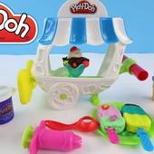Новый набор пластилина Play-Doh фургон с мороженым. оригинал