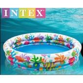 Детский надувной бассейн Intex 59431 Аквариум: 132х28см