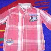 рубашка Паровозик Томас 1,5-3 года