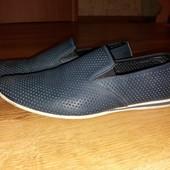 Летние мужские туфли, натур.кожа, р. 43, по стел. 29 см.