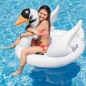 "Надувной плот Intex 57557 ""Белый лебедь"": 130х102х99см"