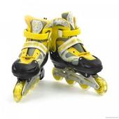 Ролики 6032 / 466-155 L /40-43/ желтый