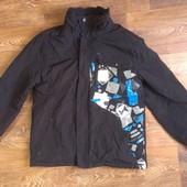 мембранная лыжная термо-куртка Go Sport, р. 150-160см, на 14 лет
