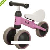 Детский беговел Bike MT-03 колеса eva+кож сиденье, розовый