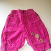 штаны бриджы на девочку 74-80см