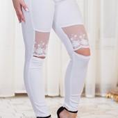 Размеры 42-50 Оригинальные женские брюки весна