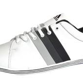 Кожаные кроссовки мужские спортивные 45 р (321С)
