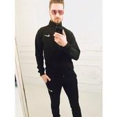 Спортивный костюм  Nike мужской чёрный 46 до 52 (2с
