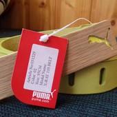 Новый кожаный ремень Puma