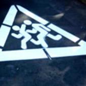 Светоотражающая краска для дорожной разметки и знаков