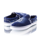 Мужские джинсовые мокасины 9594-5 два цвета