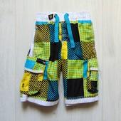 Яркие пляжные шорты для мальчика. Rebel. Размер 2-3 года