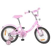 Велосипед двухколёсный детский 14 дюймов Profi Princess G1411
