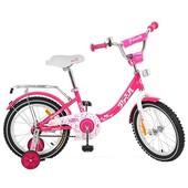 Велосипед двухколёсный детский 14 дюймов Profi Princess G1413