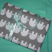 Плед,одеяло на выписку для новорожденных 95х99