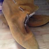 женски ботиночки из замши