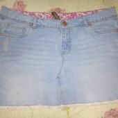 Юбка джинсовая 14 р