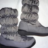 Сапоги дутики зимние 36р. 23,5 см. Prima D'Arte