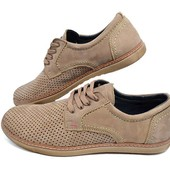 Мокасины Перфорация Multi Shoes Ra2 Latte