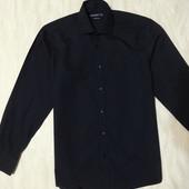 Стильна черная рубашка  Cedar Wood State новая, р.48