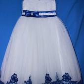 В наличии! Платья нарядные выпускные праздничные 6-7 лет.  1-12 лет