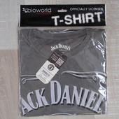Фирменная хлопковая футболка Jack Daniels от Bioworld, р. М. Оригинал